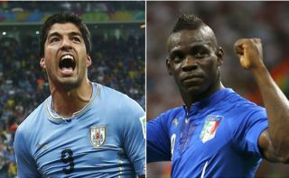 "Suárez vs. Balotelli: duelo de ""bad boys"" en Brasil 2014"