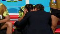 David Villa se despidió llorando del Mundial y de su selección