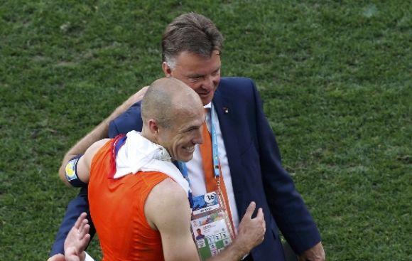 """Van Gaal: """"El equipo más inteligente y astuto ganó el partido"""""""
