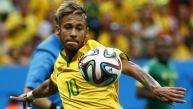 Neymar juega su primer Mundial y ya es goleador de Brasil 2014
