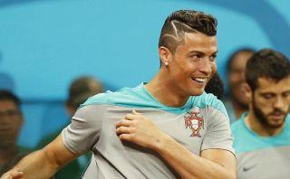 Nuevo look de Cristiano Ronaldo no fue dedicado a niño español