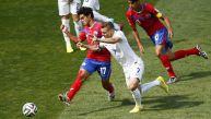 Costa Rica clasificó invicto y primero en el Grupo D