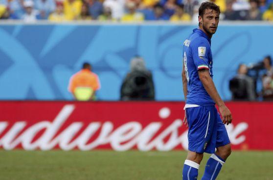 La tristeza de Italia tras quedar eliminada a manos de Uruguay