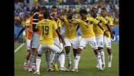 Japón vs. Colombia: los cafeteros y su tradicional baile de gol
