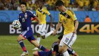 James Rodríguez selló con un lujo goleada de Colombia a Japón