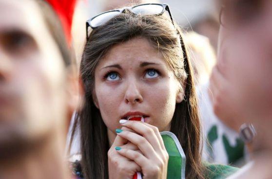 Digna de consuelo: así sufrieron en Italia caída ante Uruguay