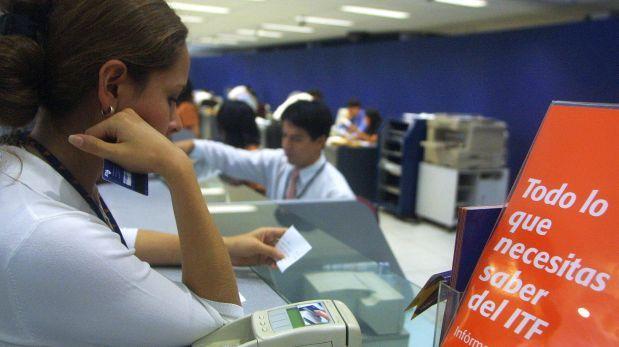 ¿Cuánto se paga por impuesto a las transacciones financieras?