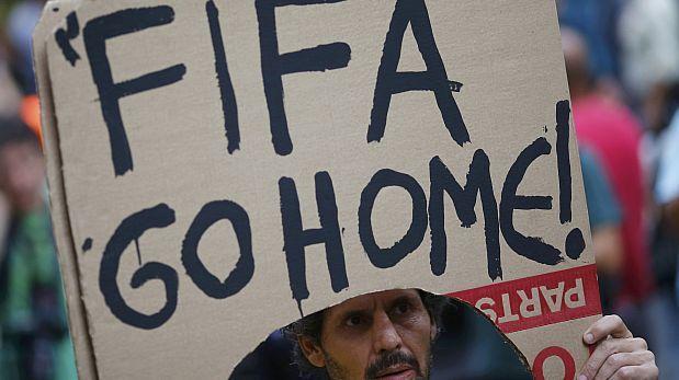 Protestas en Brasil caen en 39% desde el inicio del Mundial