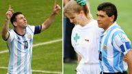 Un día como hoy Messi brilló y Maradona 'murió' en un Mundial