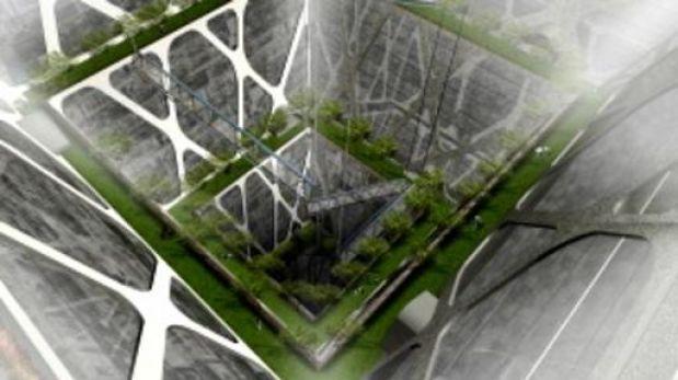 Los impresionantes edificios bajo tierra en Ciudad de México