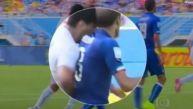 Las imágenes que convencieron a la FIFA de que Suárez sí mordió