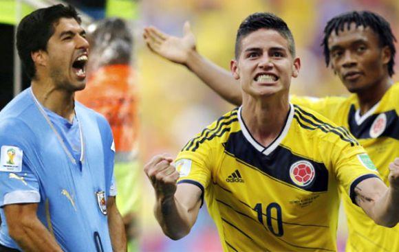 Sanción a Suárez: ¿Cuánto pierde Uruguay y qué gana Colombia?