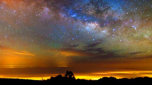VIDEO: Así luce el cielo si lo graban durante una semana entera