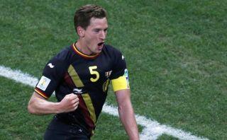 Bélgica ganó 1-0 a Corea del Sur jugando con diez hombres