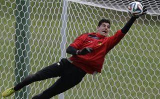 Courtois admite que Bélgica debe mejorar en octavos de final