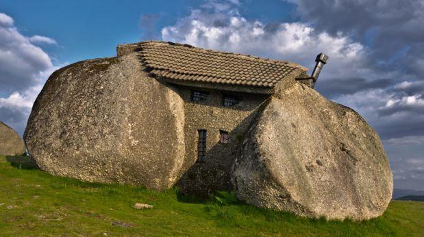 Al Estilo Picapiedra: Conoce Esta Casa De Piedra En Portugal