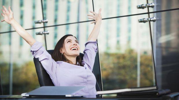 Seis formas de mantenerte positiva en el trabajo