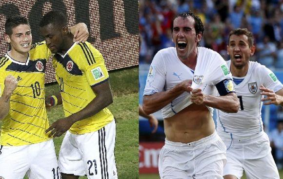 Colombia vs. Uruguay ¿Qué equipo es favorito en las apuestas?