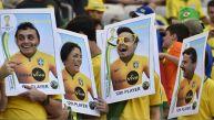 Brasil vs. Chile: la fiesta en las tribunas de estadio Mineirao