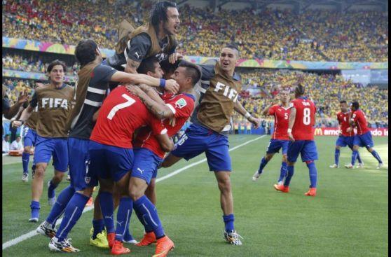 Brasil vs. Chile: Alexis Sánchez empató así para los chilenos