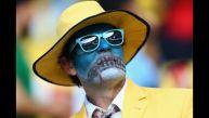 Colombia vs. Uruguay: los mejores disfraces de los hinchas