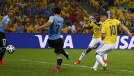Colombia vs. Uruguay: el segundo gol de James en el Maracaná