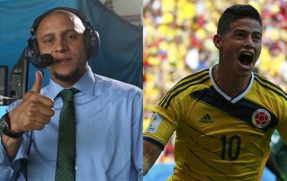 Esta es la impresión de Roberto Carlos sobre James Rodríguez