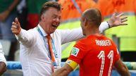 Louis van Gaal se mostró irónico sobre las críticas a Holanda