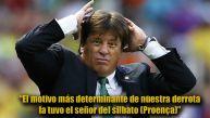 Miguel Herrera y sus duras frases contra el árbitro Proença