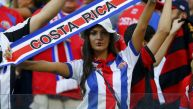 Costa Rica vs. Grecia: las hinchas más bellas en las tribunas