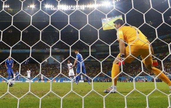 Costa Rica vs. Grecia: golazo de Ruiz da la ventaja a 'Ticos'