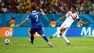 Costa Rica vs. Grecia: así fue el golazo de Bryan Ruiz
