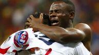 Lágrimas de felicidad: así celebró Costa Rica su clasificación