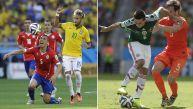 El Mundial alcanzó sus cifras más altas con el Brasil vs. Chile
