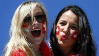 Argentina vs. Suiza: las bellezas que deslumbran en tribunas