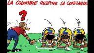 Colombia se indigna por nueva caricatura en televisión belga