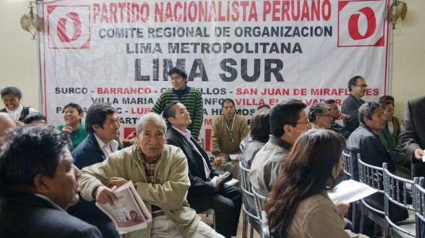 Partido Nacionalista no presentó información financiera a ONPE