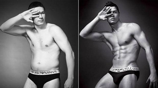 """Estos """"hombres reales"""" posan como modelos de ropa interior"""