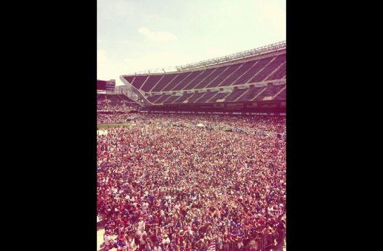 Miles siguen el EE.UU.-Bélgica en el Soldier Field de Chicago