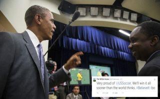 """Obama a su selección: """"ganaremos todo antes de lo que creen"""""""