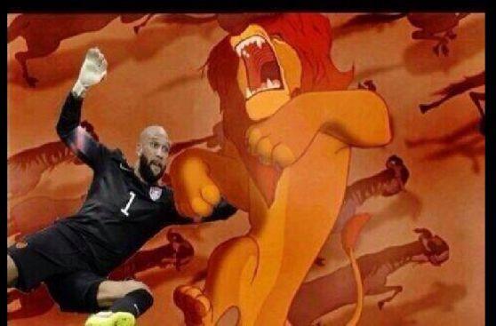 Divertidos memes de Tim Howard, que logró un récord en Mundial