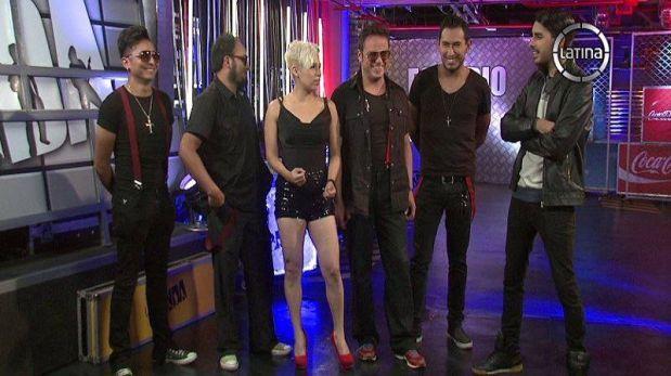 """""""La banda"""": Pink de """"Yo soy"""" conquistó a Salim con su grupo"""