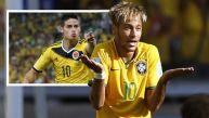 Neymar y lo que opina sobre el colombiano James Rodríguez