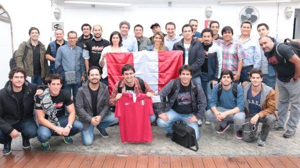 Andrés Wiese y Bruno Pinasco viajaron a Brasil para el Mundial