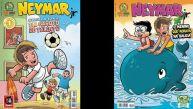 Neymar causa furor y gana por goleada en los cómics