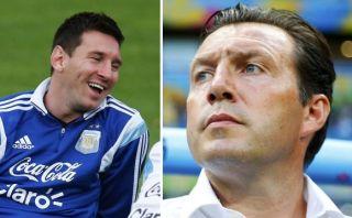 """Wilmots: """"¿Messi? ...tengo a De Bruyne y a Hazard"""""""
