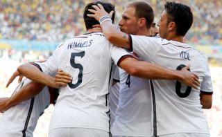 CRÓNICA: Alemania sin muchos lujos es el primer semifinalista
