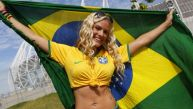 Brasil vs. Colombia: brasileños ganan el duelo en las tribunas