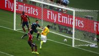CUADROxCUADRO: así fue el gol de Thiago Silva ante Colombia