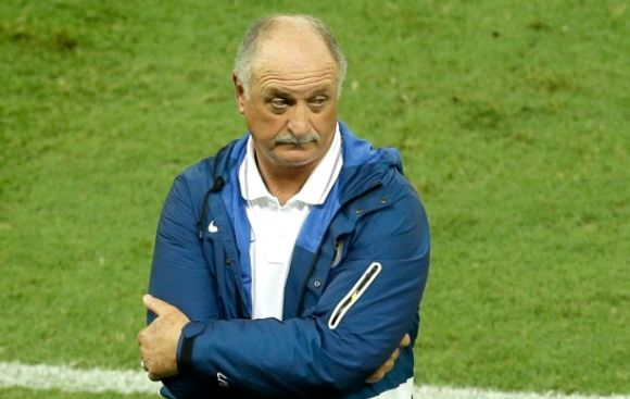 "Scolari: ""Será difícil que Neymar juegue contra Alemania"""